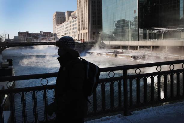 Polar Vortex Brings Extreme Cold Temperatures To Chicago:ニュース(壁紙.com)