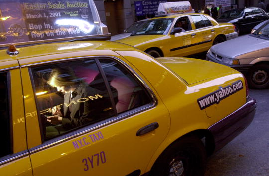 Wireless Technology「Internet Friendly Taxicabs」:写真・画像(8)[壁紙.com]
