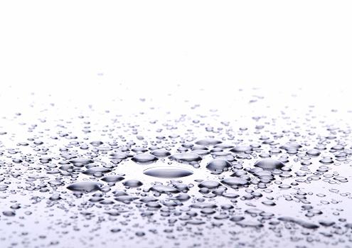 Droplet「金属上の水滴ます。」:スマホ壁紙(16)