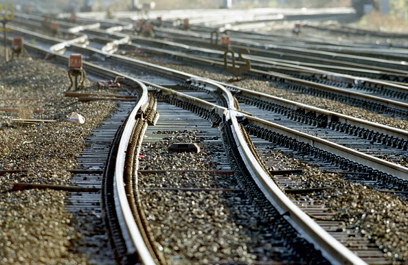 Railroad Track「Track details at Crewe showing crossovers from the station to the Manchester line.」:写真・画像(14)[壁紙.com]