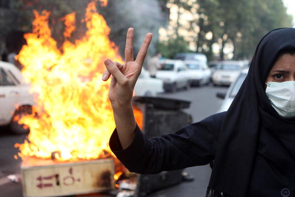 Iran「Iranian Protesters Clash With Security Forces」:写真・画像(19)[壁紙.com]