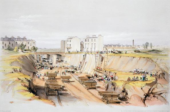 Close To「Building The Retaining Wall Near Park Street Camden Town London 17th September 1836 (1838)」:写真・画像(14)[壁紙.com]