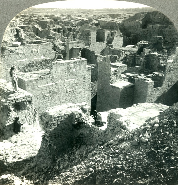 Damaged「Palace Of Nebuchadnezzar (6Th Century BC) And Desolate Ruins Of Once Mighty Babylon」:写真・画像(10)[壁紙.com]