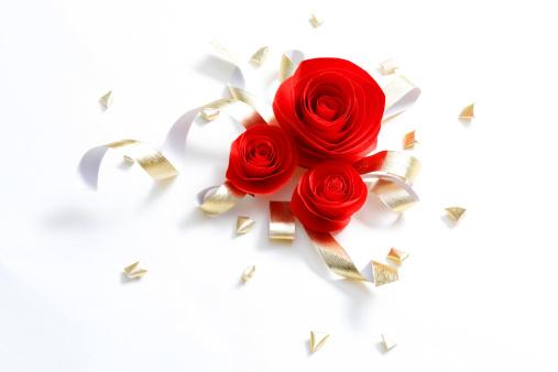 恋愛運「Red roses」:スマホ壁紙(1)
