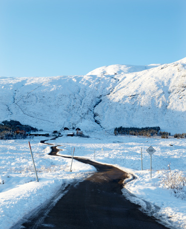 Ski Resort「Road to Glencoe Ski Resort, Ranoch Moor, Scotland」:スマホ壁紙(13)