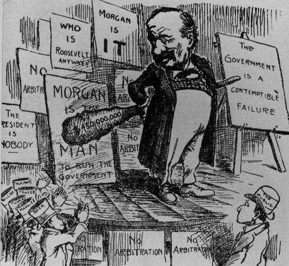Financial Occupation「Cartoon Of J. P. Morgan Sr.」:写真・画像(13)[壁紙.com]