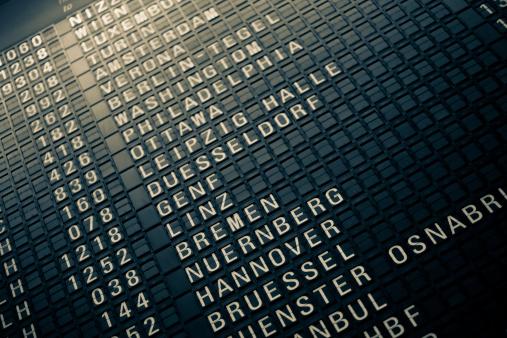 Belgium「Analog Airport Departure Board」:スマホ壁紙(2)