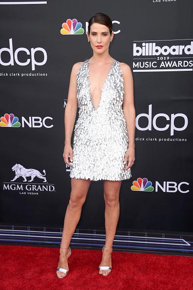 Metallic Dress「2019 Billboard Music Awards - Arrivals」:写真・画像(1)[壁紙.com]