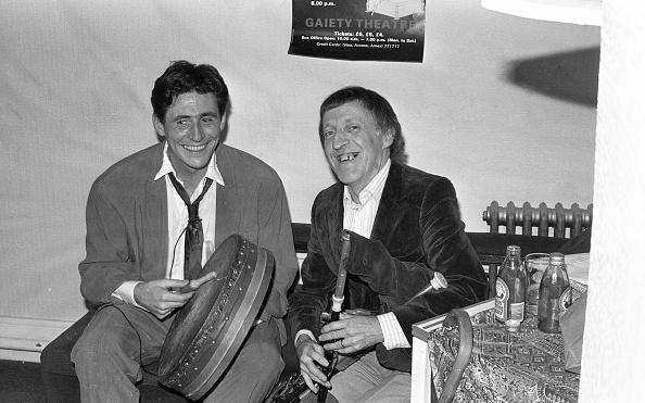 Celtic Music「Paddy Moloney and Gabriel Byrne 1988」:写真・画像(8)[壁紙.com]