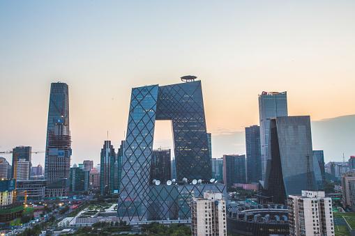 Beijing「Beijing landmarks and skyscrapers」:スマホ壁紙(2)