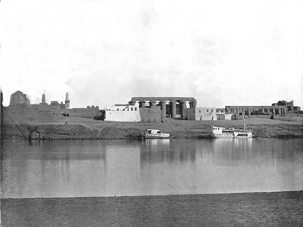 19th Century「Luxor From The Nile」:写真・画像(11)[壁紙.com]