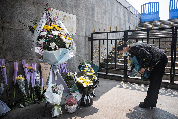 Death「People Mourn COVID-19 Victims In Wuhan On Tomb Sweeping Day」:写真・画像(13)[壁紙.com]