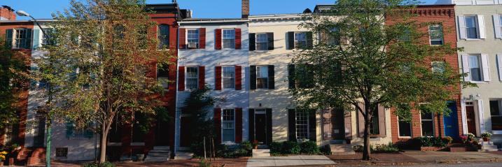 Row House「Row homes, Philadelphia」:スマホ壁紙(19)