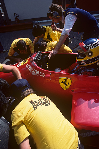 Mechanic「Michele Alboreto, Grand Prix Of Monaco」:写真・画像(16)[壁紙.com]