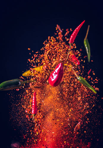 Spice「Chili Spice Mix Food Explosion」:スマホ壁紙(5)
