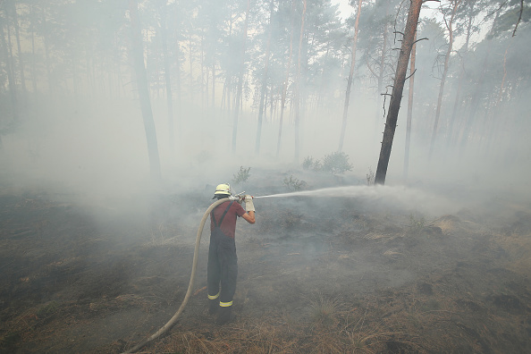 Germany「Forest Fire Spreads Southwest Of Berlin」:写真・画像(12)[壁紙.com]