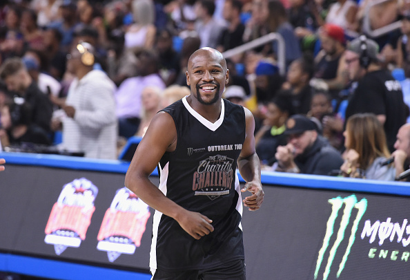 Floyd Mayweather Jr「Monster Energy Outbreak Presents $50K Charity Challenge Celebrity Basketball Game」:写真・画像(3)[壁紙.com]