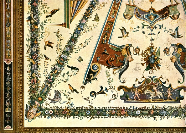 Ceiling「Decoration In The Uffizi Gallery」:写真・画像(12)[壁紙.com]