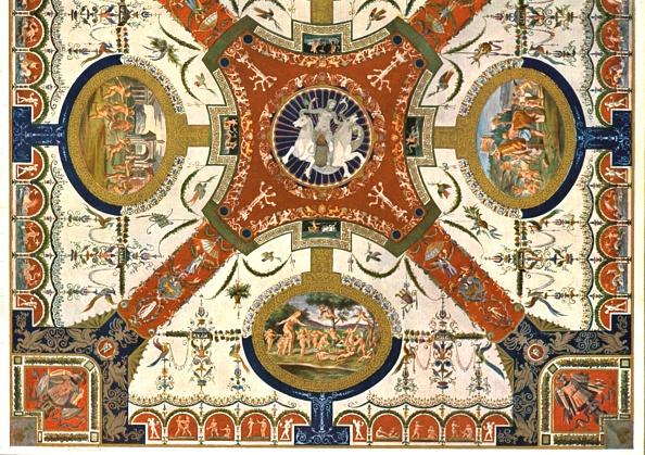 Decoration「Decoration In The Villa Madama」:写真・画像(8)[壁紙.com]