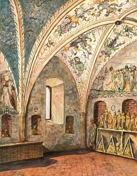 Ceiling「Decoration In St Nicholas Church」:写真・画像(17)[壁紙.com]