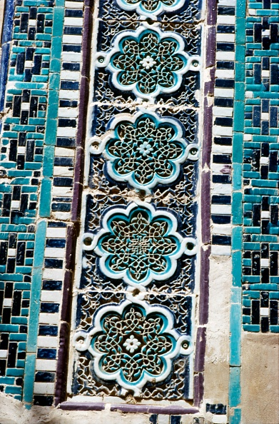 Samarkand「Decoration On A Tomb Built 1372」:写真・画像(14)[壁紙.com]