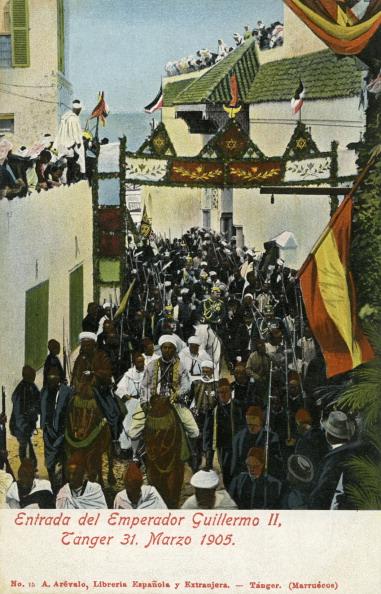 Colony - Group of Animals「Wilhelm II arrives in Tangier, 1905」:写真・画像(8)[壁紙.com]