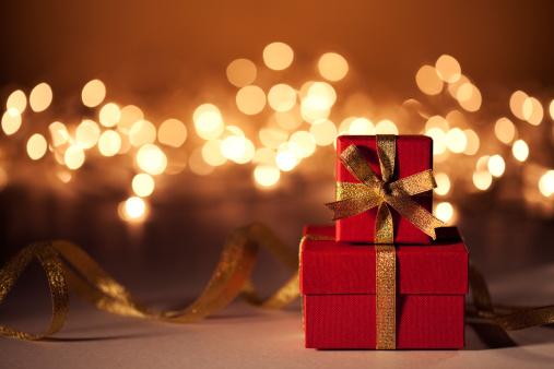 Gold「Christmas Gifts」:スマホ壁紙(7)