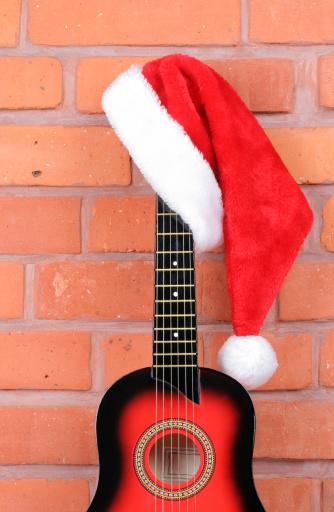 Rock Music「Christmas guitar」:スマホ壁紙(5)