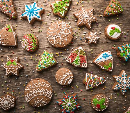 Gingerbread Cookie「Christmas gingerbread cookies」:スマホ壁紙(10)