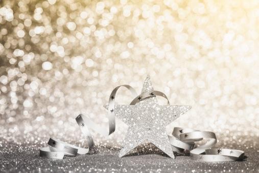 ラメグリッター「クリスマスの輝く星」:スマホ壁紙(19)
