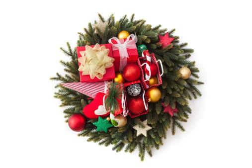 Pine Cone「Christmas Garland」:スマホ壁紙(19)
