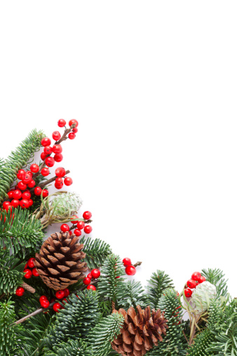 Pine Cone「Christmas Garland」:スマホ壁紙(4)