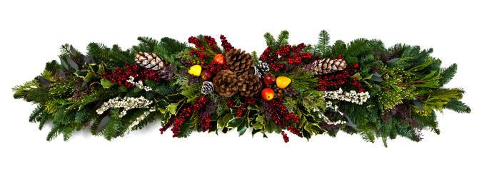 Branch - Plant Part「Christmas Garland」:スマホ壁紙(10)