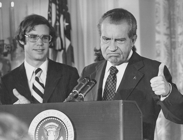 Speech「Nixon Resigns」:写真・画像(4)[壁紙.com]