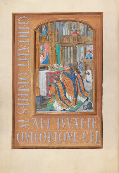 Religious Mass「Hours Of Queen Isabella The Catholic」:写真・画像(14)[壁紙.com]