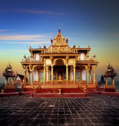 Cambodian Culture「Cambodia, Phnom Penh, Buddhist temple」:スマホ壁紙(7)