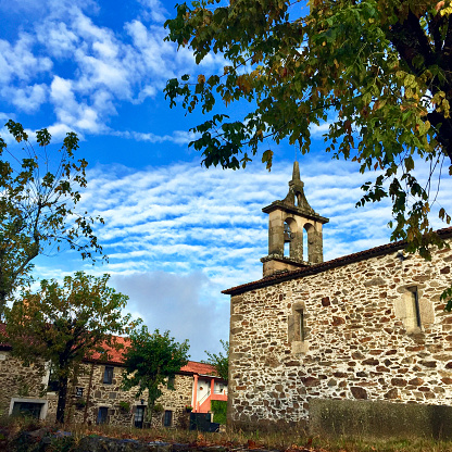 Camino De Santiago「Church along the Camino de Santiago, Spain」:スマホ壁紙(9)