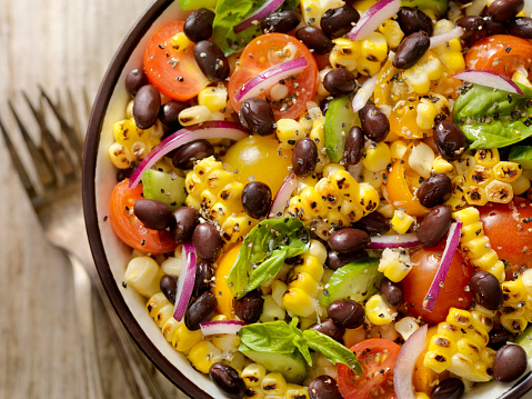 Crockery「Grilled Corn and Black Bean Salad」:スマホ壁紙(0)