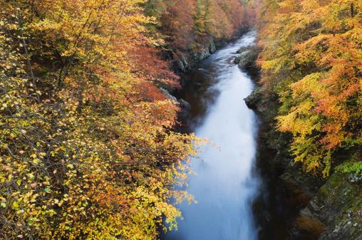 Perthshire「Pass of Killiecrankie in autumn」:スマホ壁紙(15)