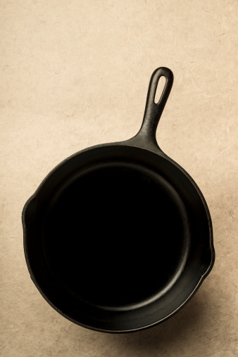 Skillet - Cooking Pan「A cast iron frying skillet」:スマホ壁紙(13)