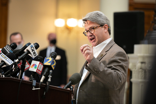 Secretary Of State「Georgia's Secretary Of State Holds News Conference On Election Ballot Count」:写真・画像(19)[壁紙.com]