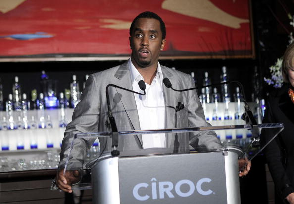 "Ciroc「Sean ""Diddy"" Combs Press Conference To Announce New Business Venture」:写真・画像(15)[壁紙.com]"
