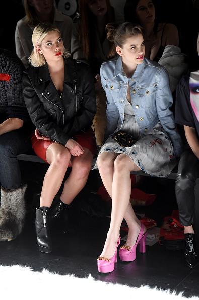 アシュリー ベンソン「Jeremy Scott - Front Row - February 2017 - New York Fashion Week: The Shows」:写真・画像(9)[壁紙.com]