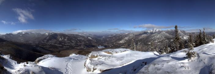 Adirondack Mountains「Panoramic of Noonmark Mountain Summit, Adirondacks」:スマホ壁紙(15)