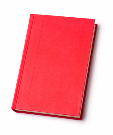 Textbook「Blank red hardback book」:スマホ壁紙(13)