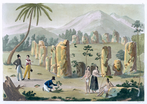 Horror「House Of The Ancients Island Of Tinian' circa 1820-1839」:写真・画像(1)[壁紙.com]