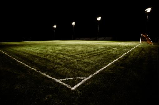 Stadium「Soccer Field at Night」:スマホ壁紙(8)