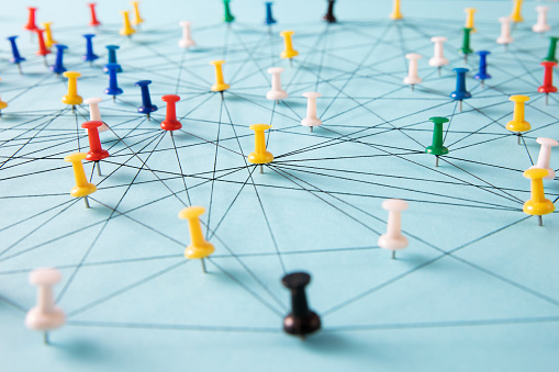 Straight Pin「Small Network of Pins」:スマホ壁紙(13)