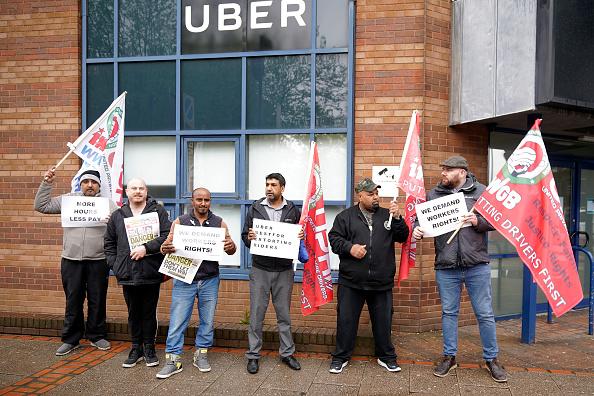 Uber - Brand-Name「Uber Drivers Protest Ahead Of Stock Market Flotation」:写真・画像(8)[壁紙.com]