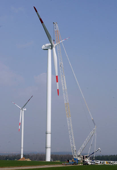 Construction Equipment「Germany Continues To Invest In Wind Energy」:写真・画像(2)[壁紙.com]
